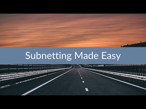 Subnetting made easy - Sunset Learning Institute