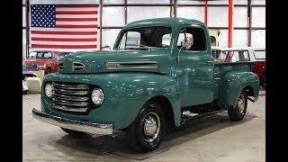 1950 Ford F1 green