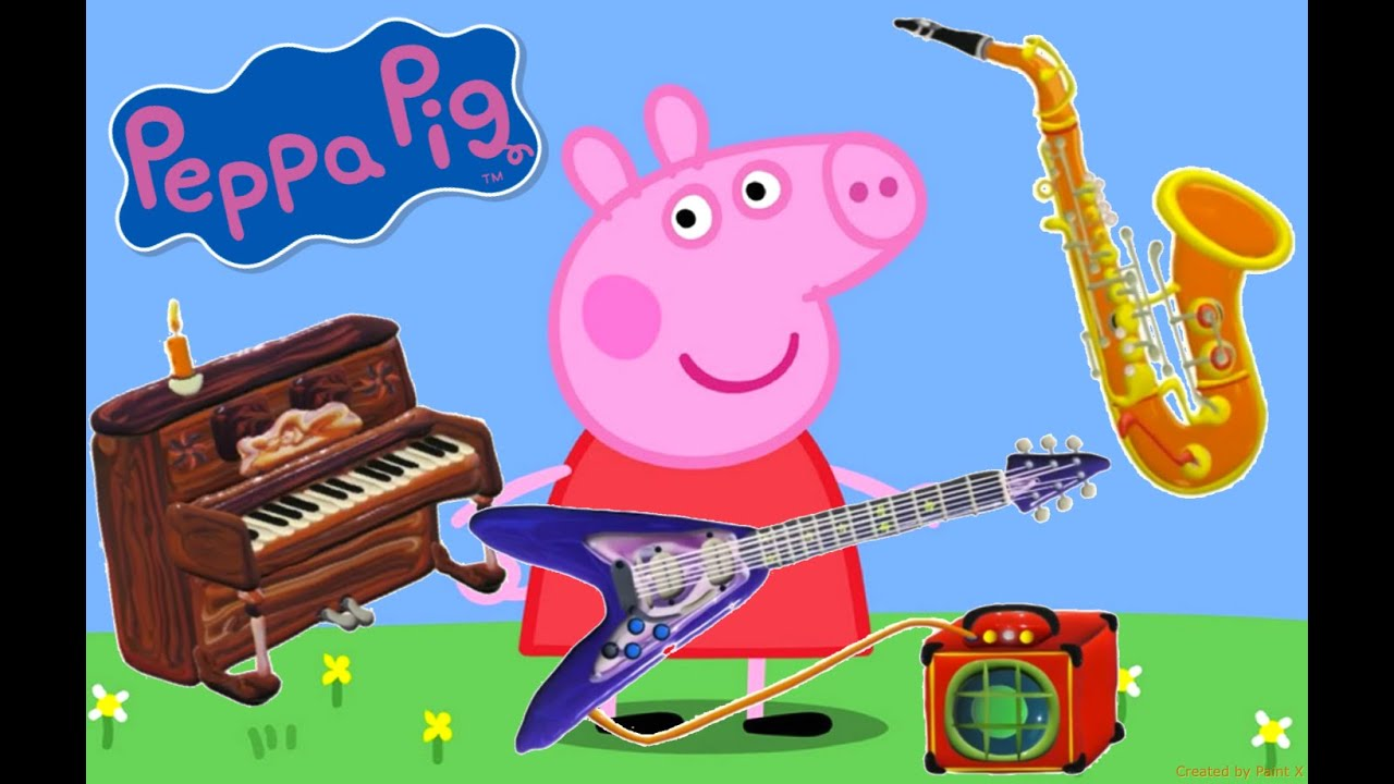 Peppa Pig Musical Chairs
