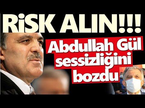 Ali Babacan'a perde arkasından destek veren Abdullah Gül sessizliğini bozdu! 'Risk alın'