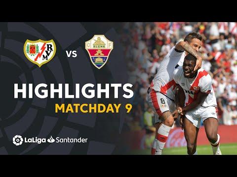 Vallecano Elche Goals And Highlights