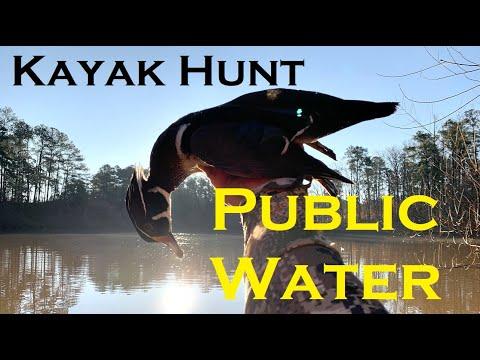 SC Duck Hunt - Kayak Hunt On Public Water