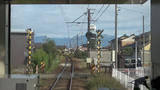 【4K前面展望】富山地方鉄道本線&立山線 電鉄富山→立山