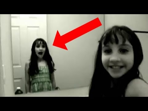 Creepy Grudge Ghost Girl In The Mirror EXPLAINED!!