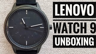 Lenovo Watch 9 Smartwatch unboxing