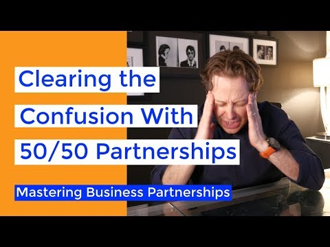 Is a 50/50 Business Partnership Right for You?   Business Partnership Mastery Series