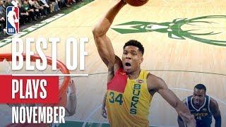 NBA's Best Plays | November 2018-19 NBA Season