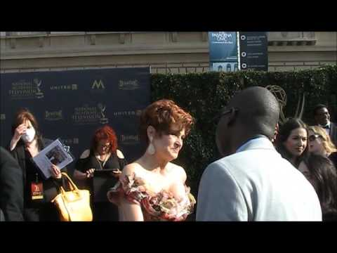 44th Annual Daytime Emmy Creative Arts Award Interviews: Carolyn Hennesy!