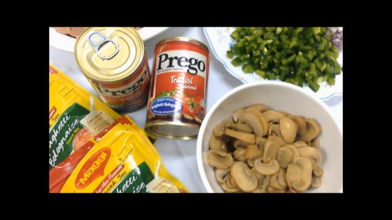 Resipi Spaghetti Bolognaise Simple Youtube