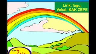 Warna Pelangi = Lagu ANak Tema Pengenalan Warna bENDA lANGIT KArya Kak Zepe Mp3