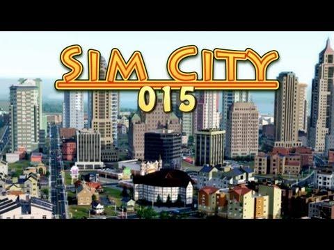 Let's Play Sim City 5 #015 Straßenbahn, Globe Theatre und wachsender Tourismus [Deutsch] [HD] [NEU]