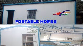 Gambar cover prefabricated house#PORTABLE HOMES|| The advantages of prefabricated houses#SAI STRUCTURES INDIA#