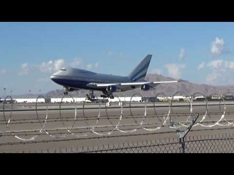 *RARE* Las Vegas Sands Corp. 747SP (VP-BLK) arrives at Las Vegas