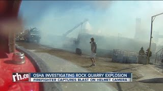 OSHA Investigating Rock Quarry Explosion
