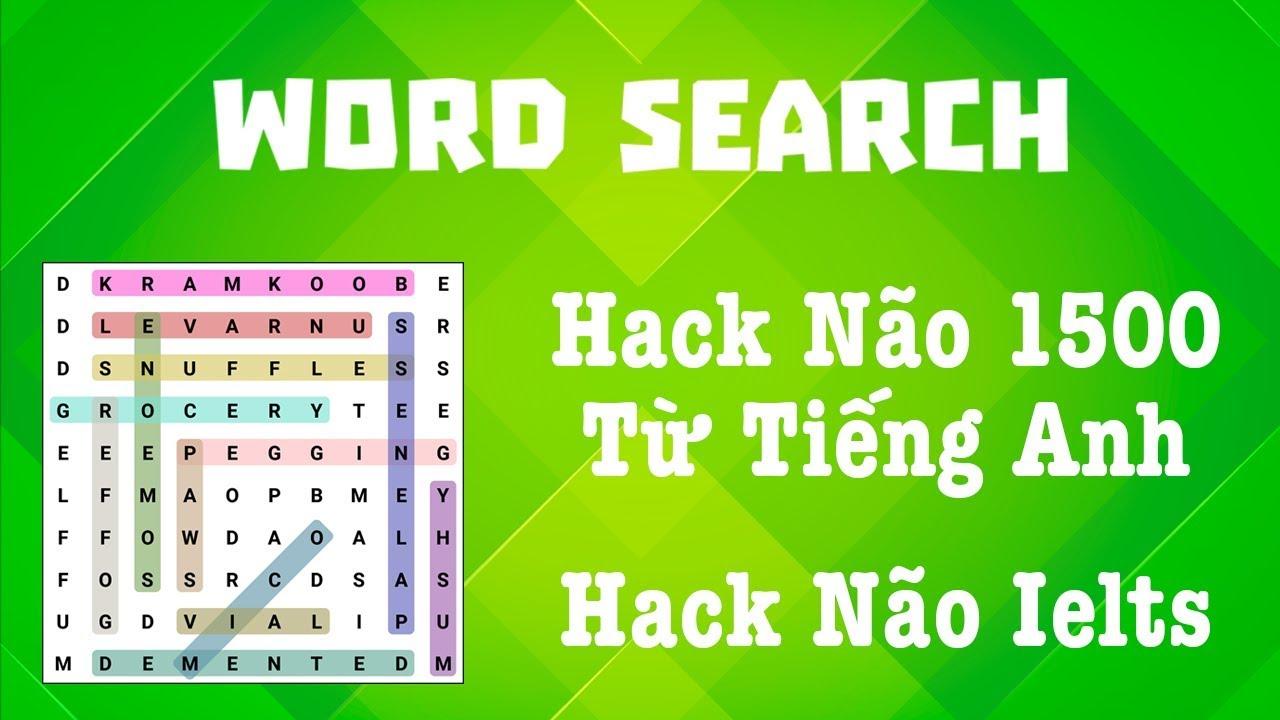 Game Hack Não 1500 Từ Tiếng Anh và Ielts