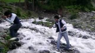 HUNZA  DANGEROUS  WATER FALL