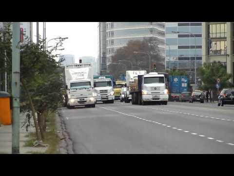 Trucks near Puerto Madero, Buenos Aires