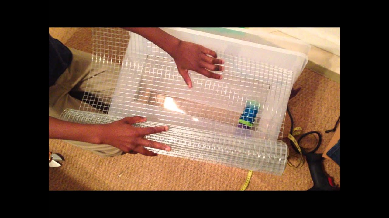 Hamster bin cage with loft tutorial 2014 youtube for Hamster bin cage tutorial