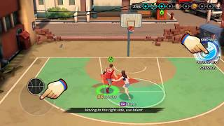 Basketball crew 2k18 - dunk stars street battle!