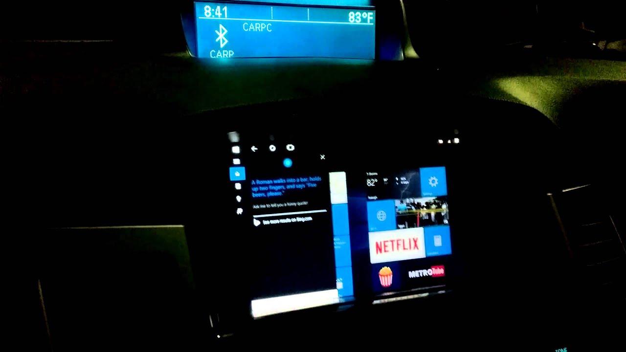 Car Pc Windows 10