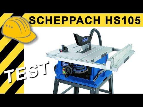 TEST Scheppach HS105 Tischkreissäge - Beste Kreissäge unter 200€?