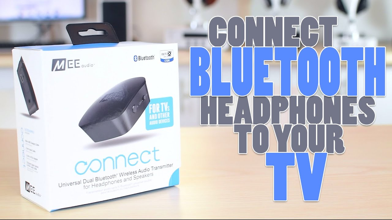 how to connect bluetooth headphones to your tv youtube. Black Bedroom Furniture Sets. Home Design Ideas