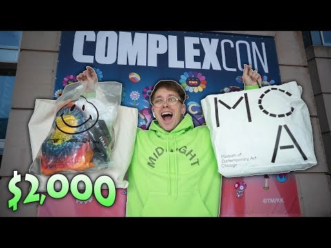 I Spent $2,000 At COMPLEXCON Chicago & The Virgil Off White MCA Installation