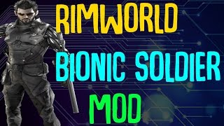 Man What a title Expanded Prosthetics and Organ Engineering is a mod for Rimworld Alpha 16 that allows you to craft bionic limbs and organs and equip your