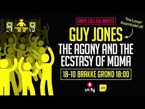 Unity invites: The Agony and Ecstasy of MDMA with Guy Jones at ADE 2017