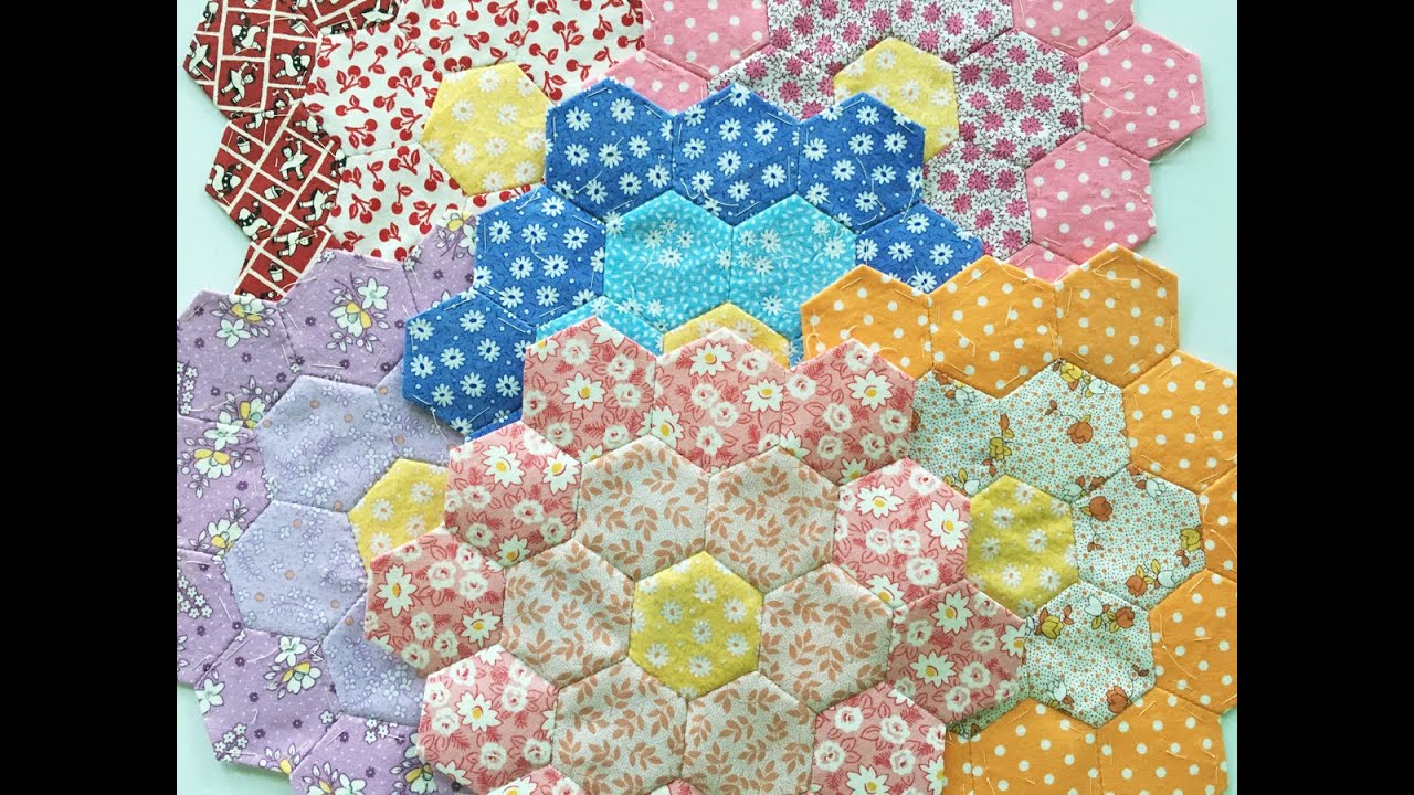 Learn How To Make Hexies With English Paper Piecing Youtube