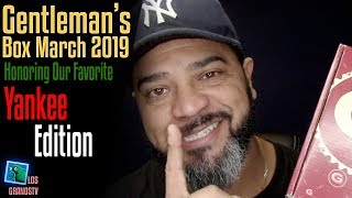 Gentleman's Box March 2019 👔 : LGTV Review