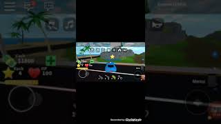 Roblox today is with me Fabian Go