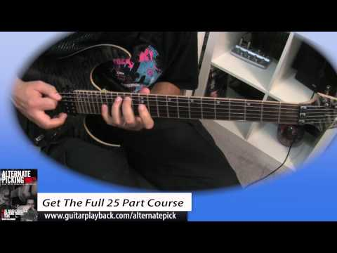 Alternate Picking Guitar Stretch