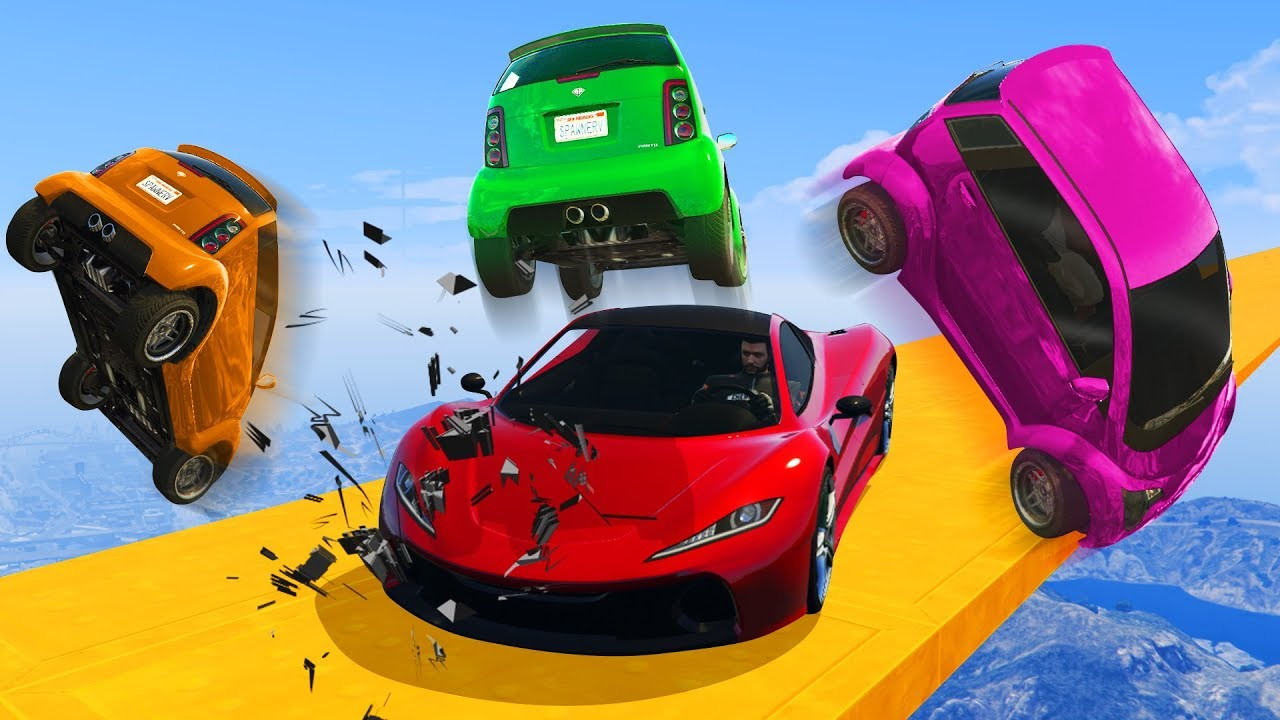 SUPERCARS VS LOSERS GTA 5 Online  YouTube