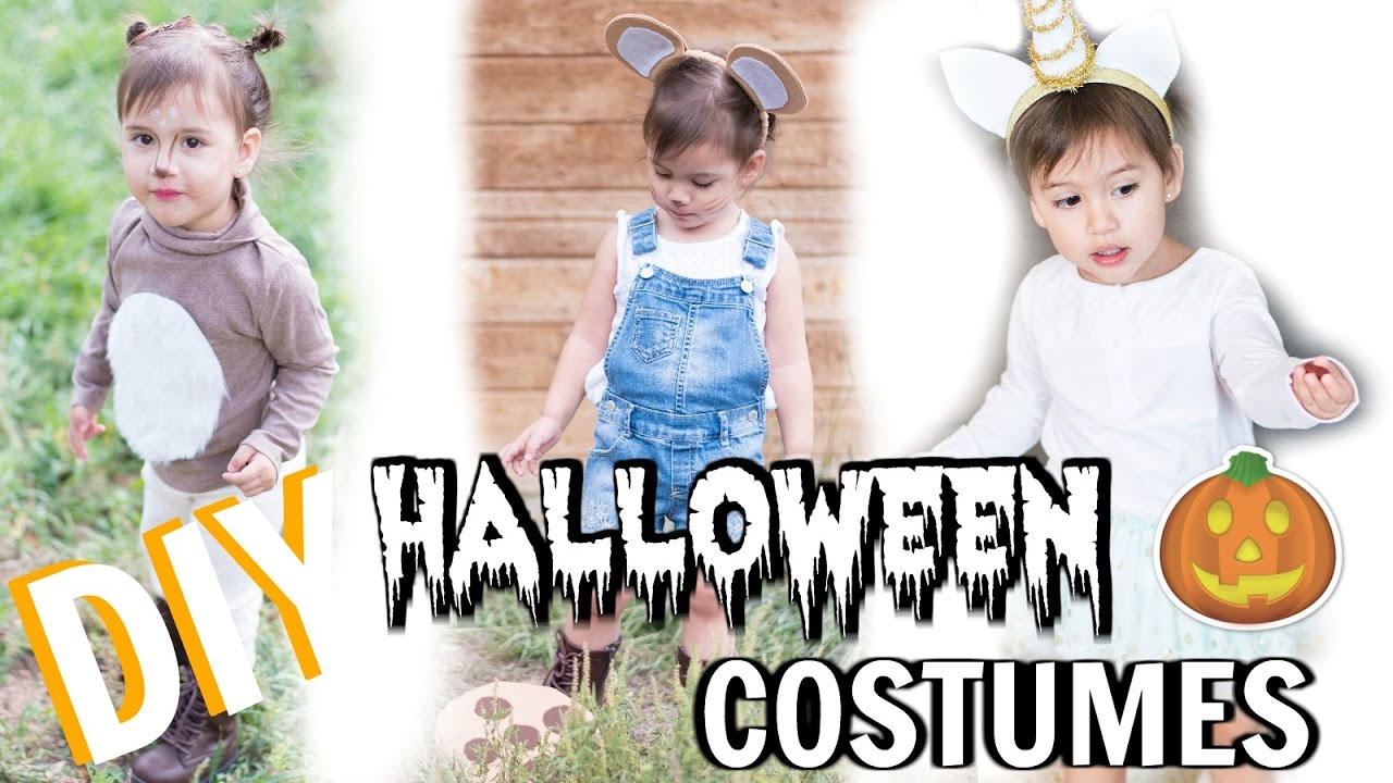 Diy halloween costumes toddler baby girl 2016 youtube solutioingenieria Gallery