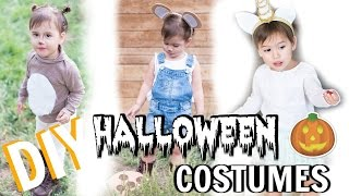 DIY Halloween Costumes 🎃 Toddler / Baby Girl! 👻 2016