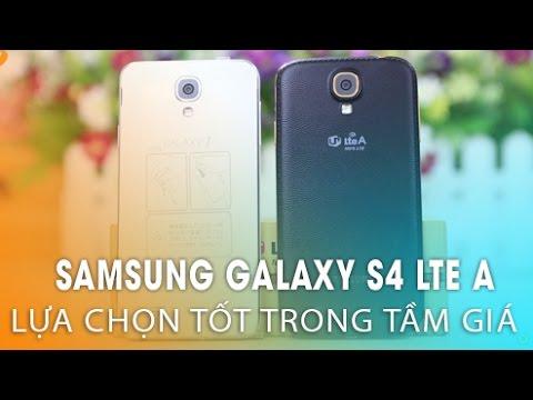 SAMSUNG GALAXY S4 LTE-A: Sự lựa chọn tốt bên cạnh GALAXY J.