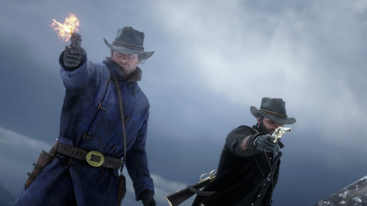Arthur and John Marston do American Venom together - Red Dead Redemption 2