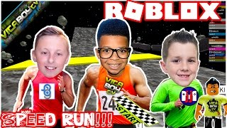 "Roblox - Speed Run 4 ""Challenge"" w/ Burlington Gamer & GamerBoy JJM"