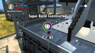 LEGO City Undercover - Chap 15: Space Shuttle Super Build 50.000 , Space Man Unlocked 1080 HD Wii U