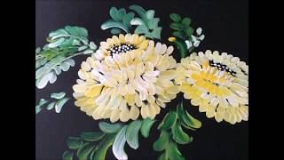 One stroke Painting-70 Paintings Collection in less than 3 minutes