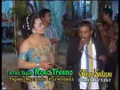 Lirik Lagu ROSO TRESNO Sragenan Karawitan/Campursari - AnekaNews.net