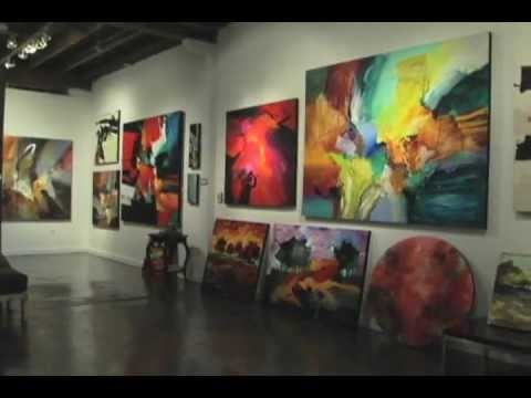 Abstract Art Gallery Tour