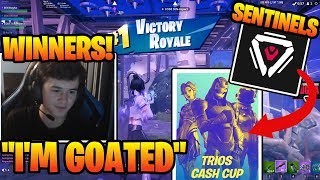 Sen Bugha *WINS* Fortnite Trios Tournament *121 POINTS* (TRIOS CASH CUP)