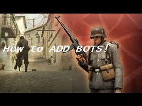 How To Add Bots Day Of Defeat 2016!