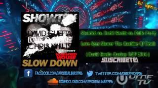 showtek vs david guetta vs knife party slow down vs love is gone vs edm death machine 1 4