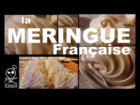 Recette de meringue française - recette facile - pâtisserie - dessert - Albarock