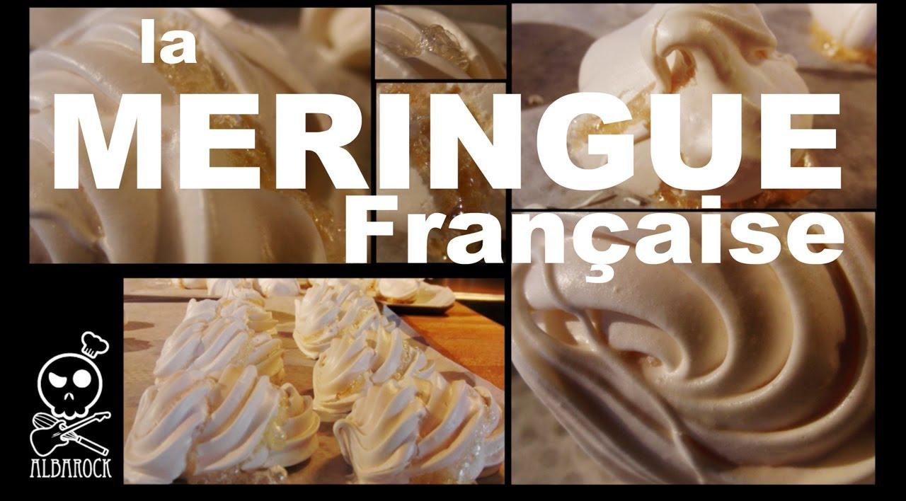 recette de meringue fran aise recette facile p tisserie dessert albarock youtube. Black Bedroom Furniture Sets. Home Design Ideas