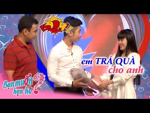 Hoàng Long - Hoàng Sang   Thanh Tân - Lê Nga   BẠN MUỐN HẸN HÒ   Tập 225   05/12/2016