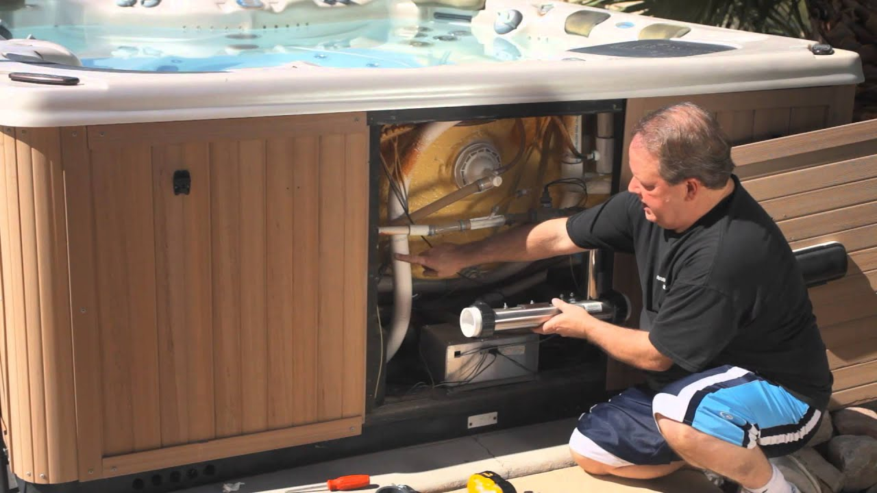 How to Fix an Air Lock in Your Spa : Pools & Spas - YouTube
